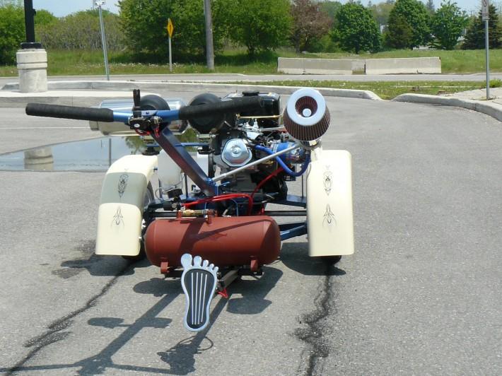 Posi-track Burnout Machine
