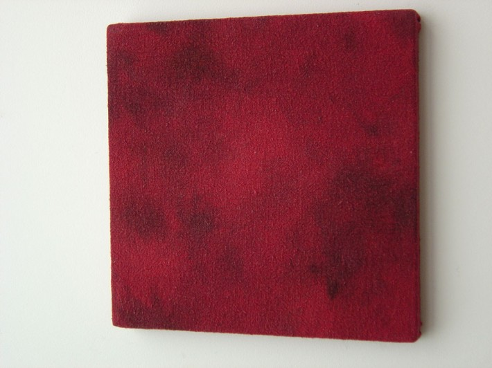 Guy Overfelt untitled (all my red shop rags from working on my Trans AM) 1996 - 2012..