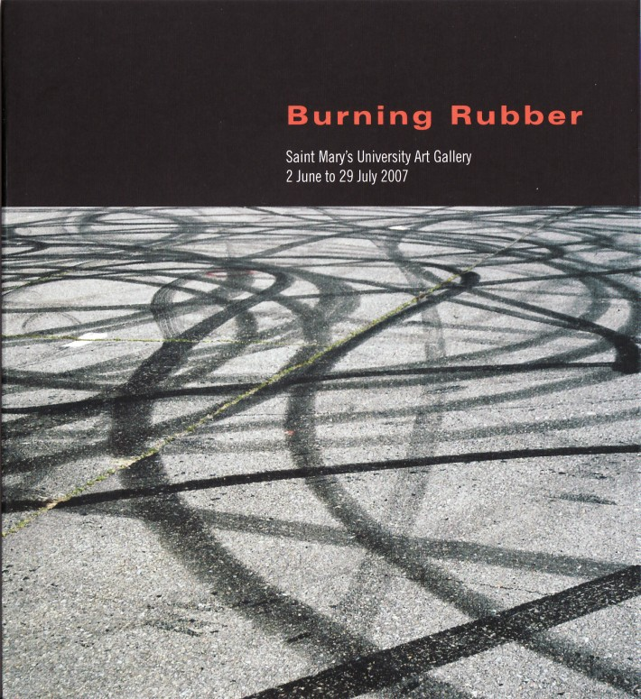 Burning Rubber Catalogue Cover