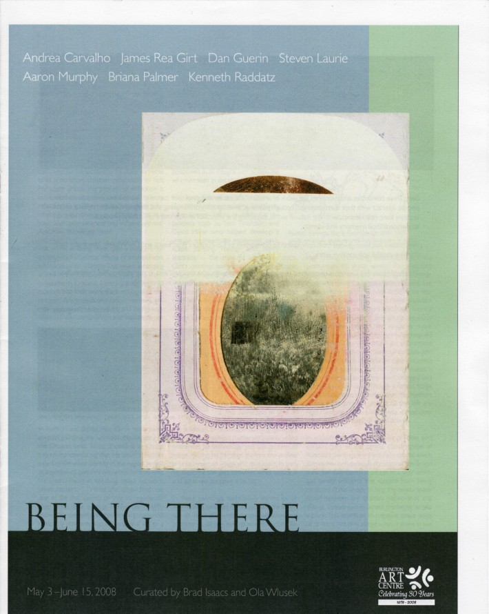 Being There Catalogue Cover