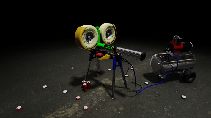 Beer Can Crusher Launcher 11